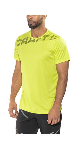 Craft Radiate No.1 hardloopshirt groen/zwart